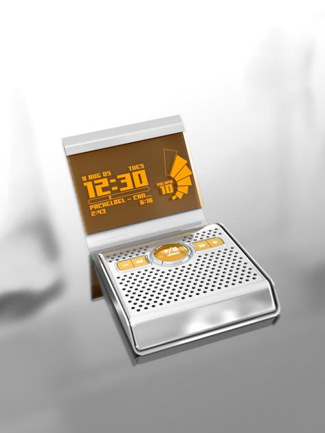 Concept Clock Radio